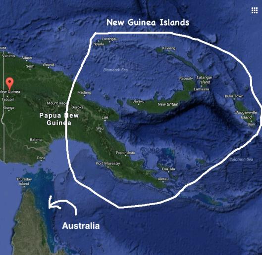 new-guinea-islands-map