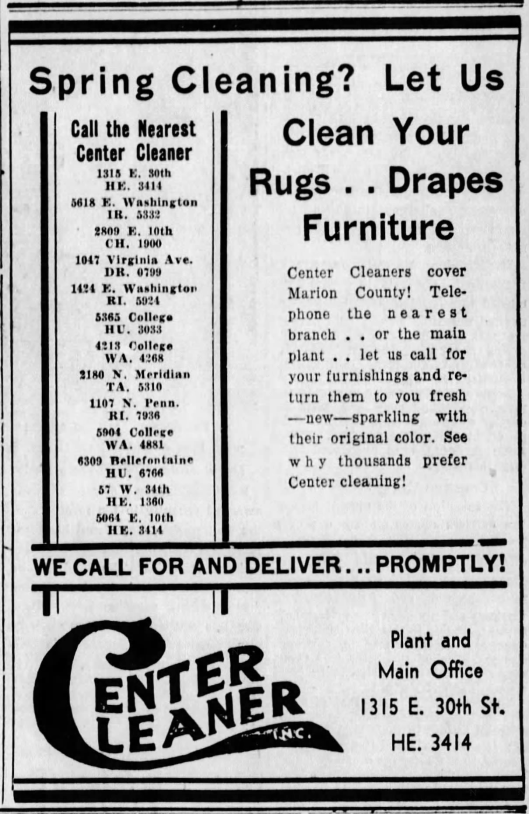 center-cleaners-ad-march-31st-1935-indianapolis-star