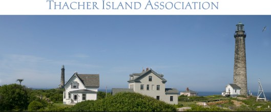 Thacher Island Association photo with lighthouse 2