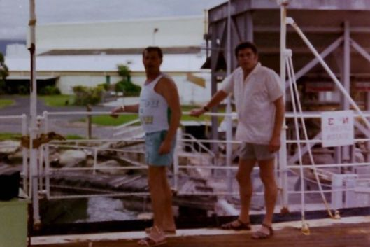 Mysterious Message - Steve Slavely and Nigel Hanlon MV Cape Don 1982
