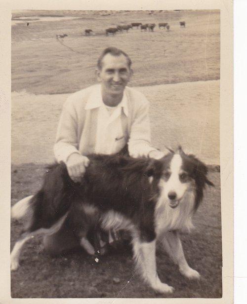 Frank Hayostek and Oscar Breda O'Sullivan's Dog