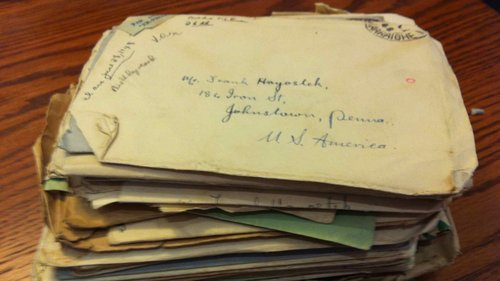 Pile of Letters From Breda