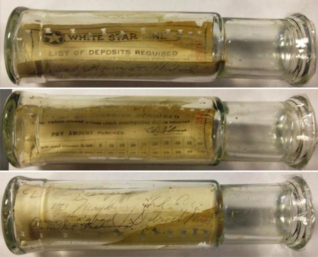 Message in a Bottle Museum: Tille Esper and Selina Pramstaller. Solved.