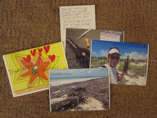 Lily's Message in a Bottle Solved - Clint's Letter and Photos to Lily Mason