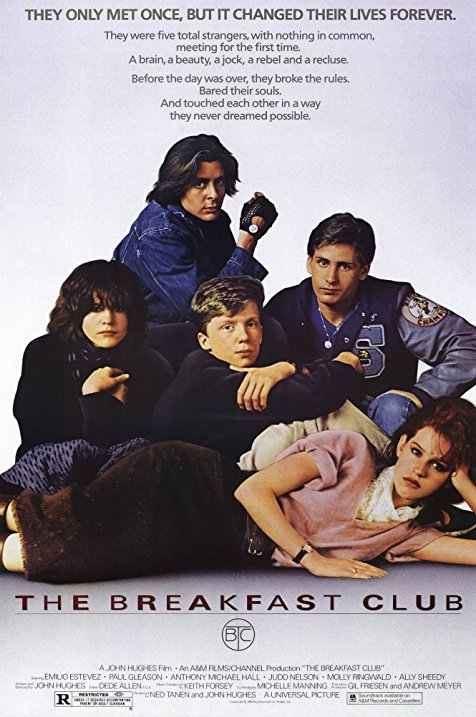 Breakfast Club Movie Poster