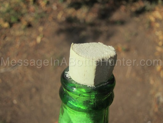 How to Make a Message in a Bottle - Beer Bottle Mess 4
