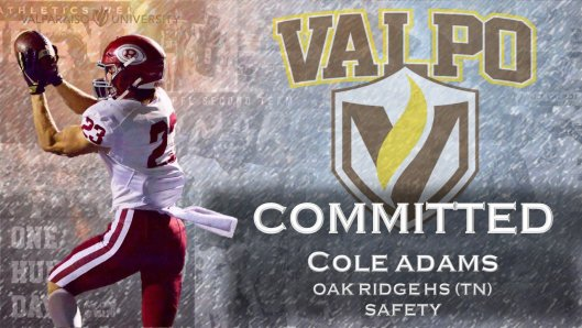 Cole Adams Valparaiso Safety Finds Message in a Bottle