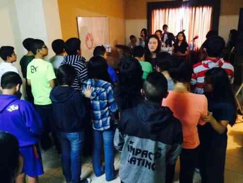 2014 - November - Peru Youth Retreat