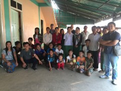 his  children's home and orphanage is in Myanmar.  Some of  the children are orphans, some are not wanted by their families,  and others have been rescued from human trafficking.