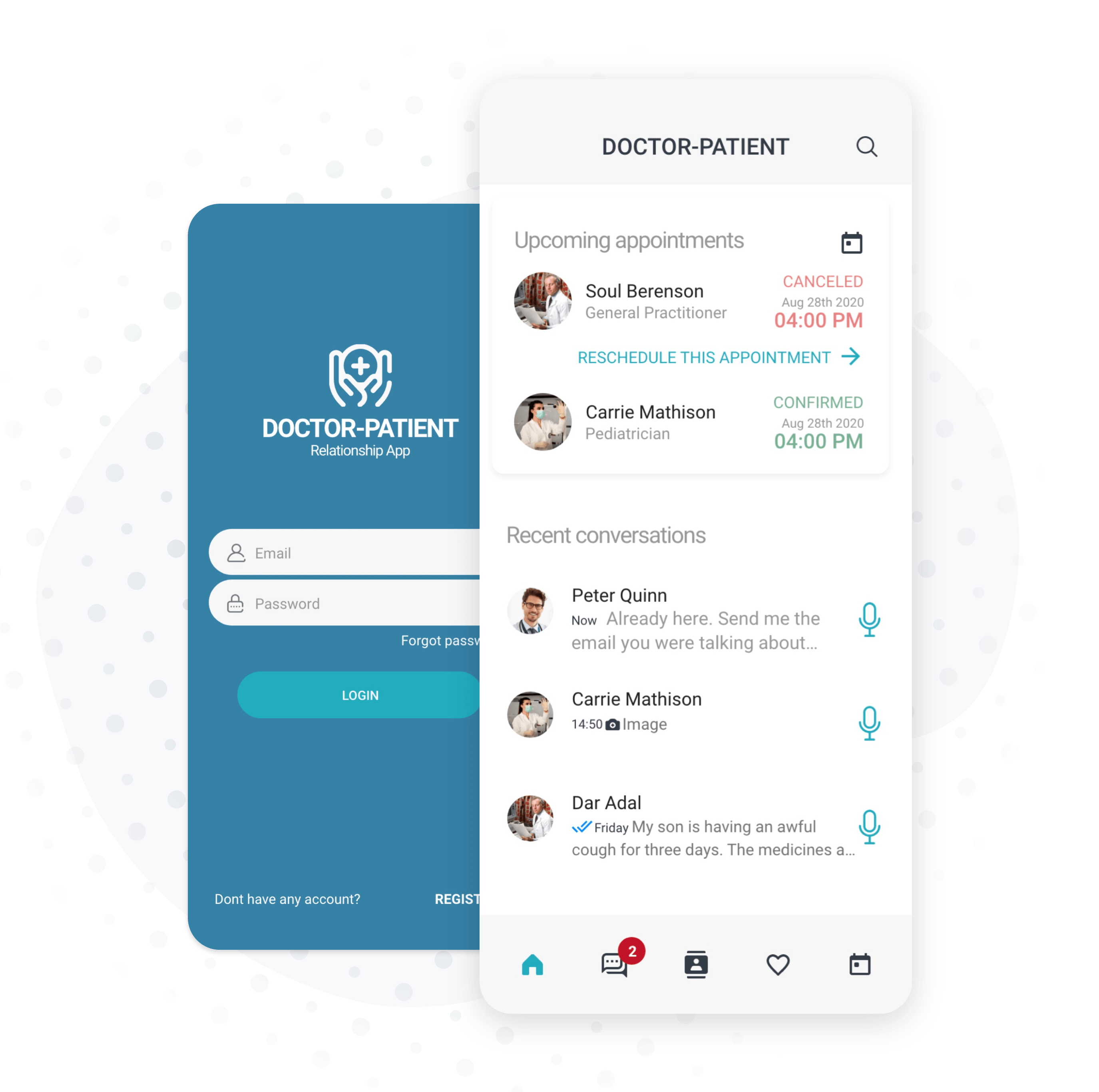 messaging app for doctors and patients