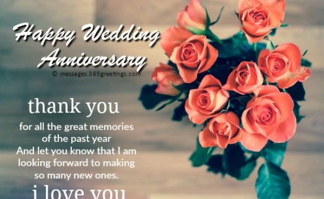 Anniversary Messages For Wife 365greetings