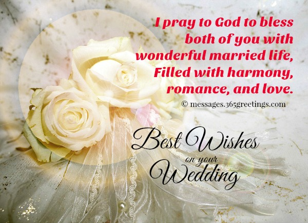 wedding wishes and messages