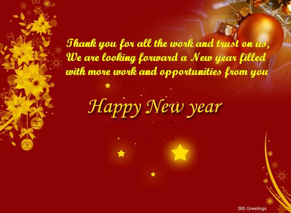business new year wishes