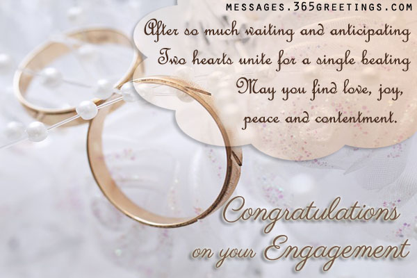 Congratulations On Your Engagement 365greetings Com
