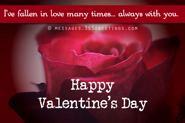 Valentines Day Messages For Girlfriend And Wife