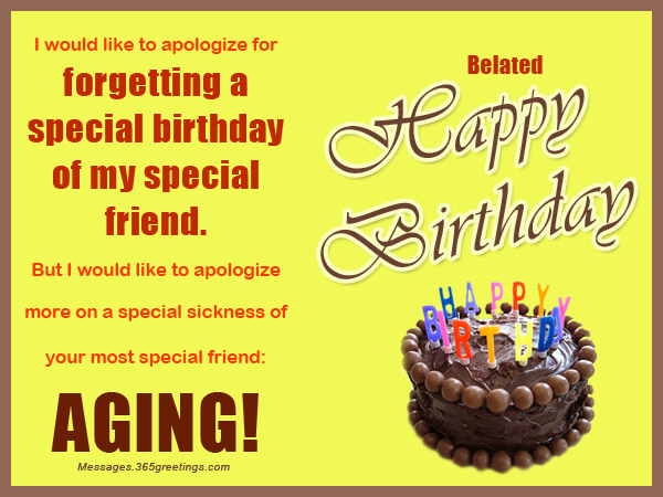 Belated Birthday Wishes Greetings And Belated Birthday