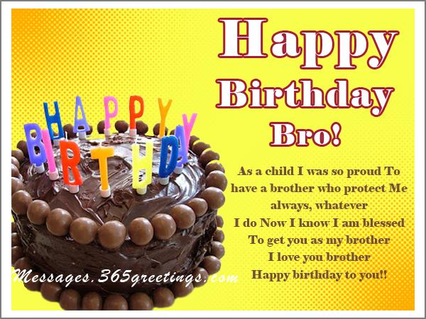 Birthday Messages For Brother 365greetings Com