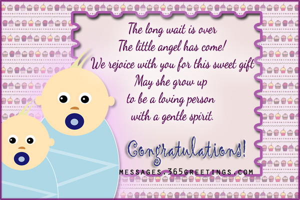 new baby wishes and