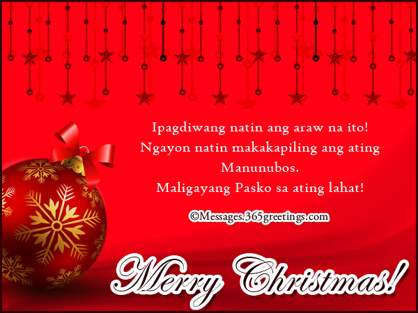 Nais Ng Maligayang Pasko Tagalog Christmas Wishes