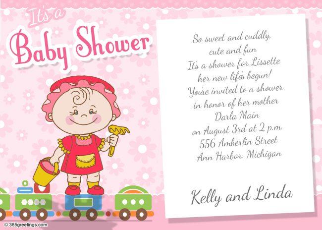 Baby Shower Invitations 365greetings Com