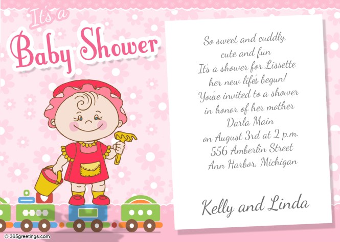 Baby Shower Invitation Wording For