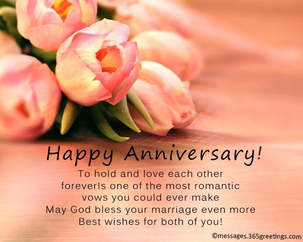 wedding anniversary wishes and