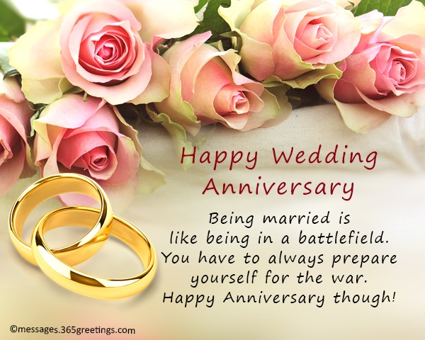wedding anniversary wishes and