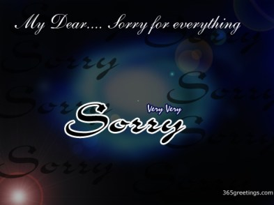 Sorry Messages For Boyfriend