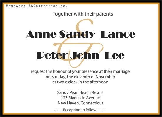 Casual Wedding Invitation Wording Reception Only Images Invitations And Templates