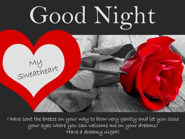 Sweet Long Goodnight Message