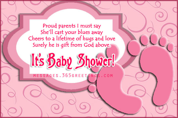 Free Sweet Baby Shower Poems  365greetingscom