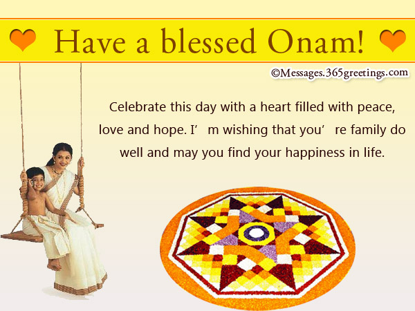 From Miles Away I And The Rest Of Family Are Wishing For Best Most Fulfilling Onam Celebration You We Miss So Much Re Hoping