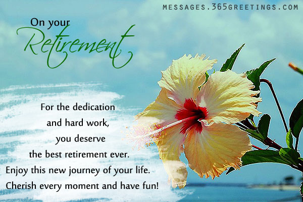 retirement wishes and messages