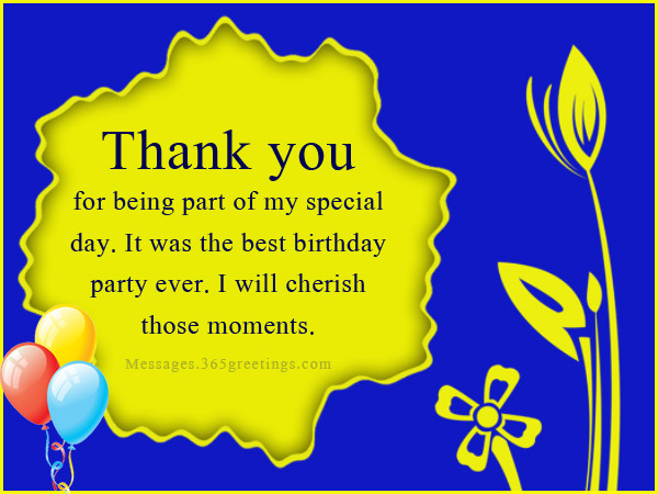 thank you messages for birthday