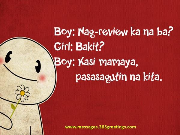 Pick Lines Jokes Tagalog