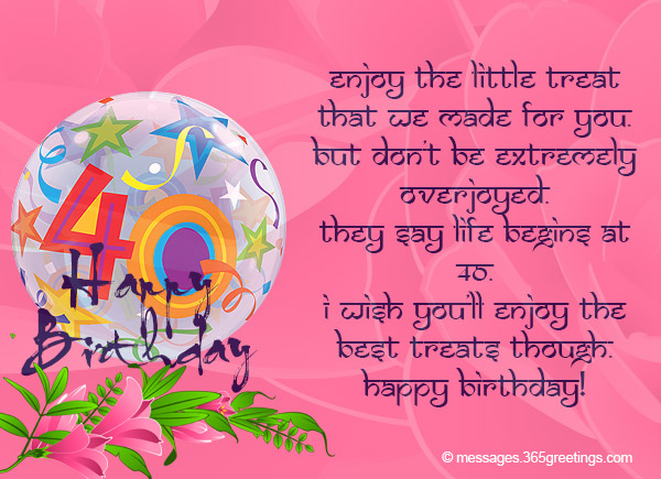 Happy 40th Birthday Quotes Daughter Wishes