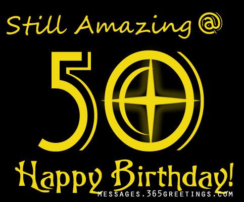 50th birthday - 50th Birthday Wishes