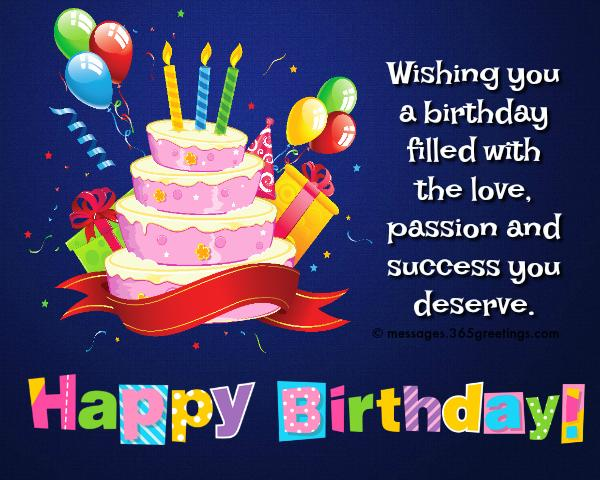 happy birthday wishes and