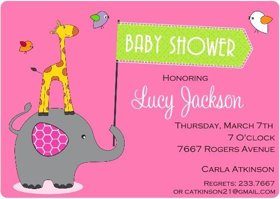 Custom Baby Shower Invitations  365greetingscom