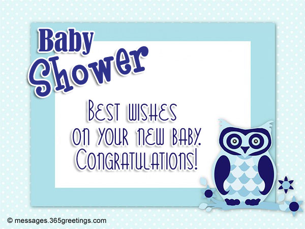 Baby Shower Messages and Greetings  365greetingscom