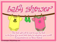 Baby Shower Messages and Greetings - 365greetings.com