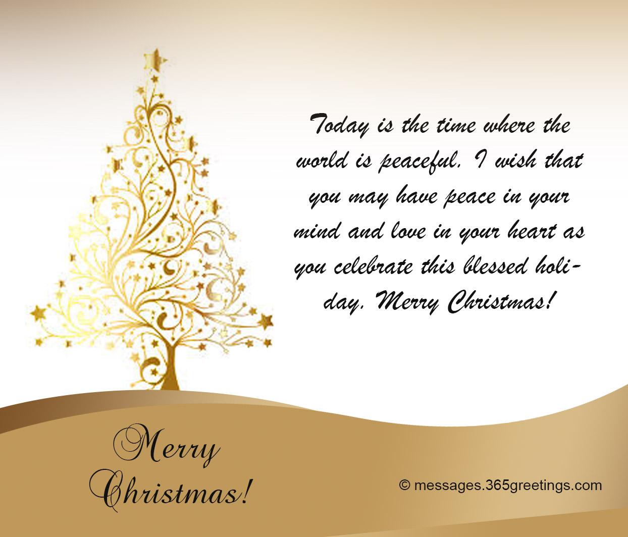 merry christmas card wording