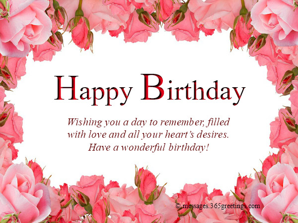 birthday wishes images and
