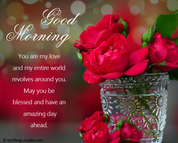 good morning messages for