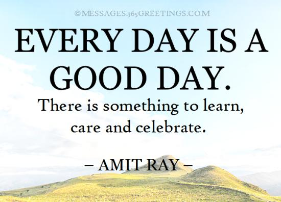 good day quotes and