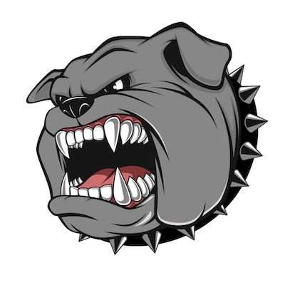 bulldog free iOS sticker messages pack