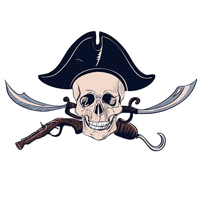 pirate stickers for iMessages free