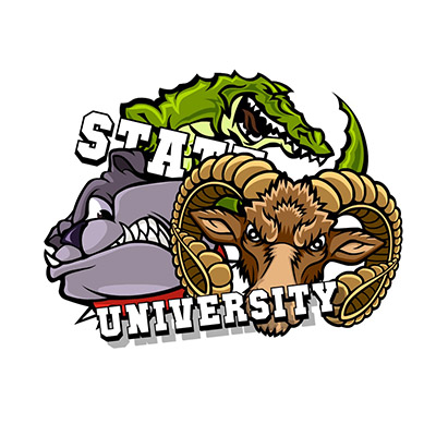 university stickers for iMessages free