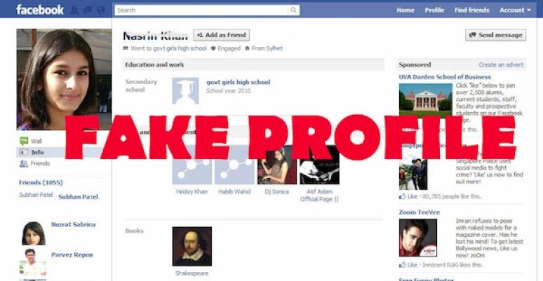 Criando um perfil falso no Facebook