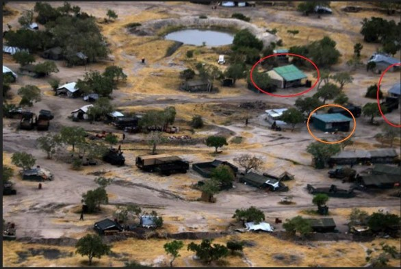 Buildings and vehicles seen on NTV footage are the same as those on Al-Shabaab propaganda footage, proving that Al-Shabaab were inside the base.